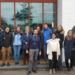 Students from Aachen, Germany visited the Schofield Centrifuge Centre